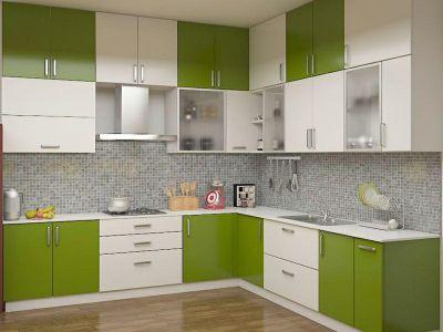 Modular Kitchen Wall Storage
